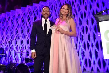 Chrissy Teigen & John Legend Share First Photo Of New Baby