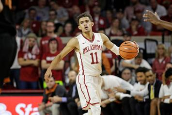 "Knicks Reportedly ""Have The Hots"" For Trae Young"