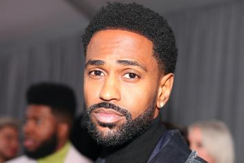 """Big Sean Pulls Up To """"Solo"""" Screening In Stormtrooper Mask"""