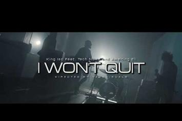 "Tech N9ne, King Iso, & Awaiting Eli Rock Out In ""I Won't Quit"" Video"