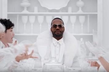 "Marshmello Brings Peace In Juicy J x James Arthur ""You Can Cry"" Video"