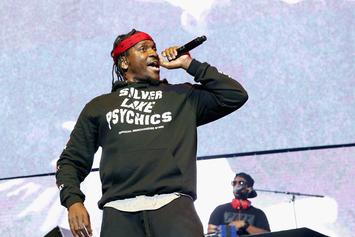"Pusha T Performs ""If You Know You Know"" On Jimmy Kimmel Live"