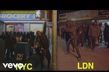 """A$AP Rocky & Skepta Mob Through NYC & London In """"Praise The Lord"""" Video"""
