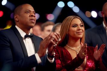 "Beyonce & Jay Z Show Off Their Twins During First ""On The Run II"" Stop"