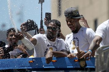 Warriors Spent $500,000 On Alcohol For Championship Parade