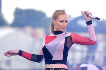 Iggy Azalea Uses A Single Rose To Cover Herself In New Photos