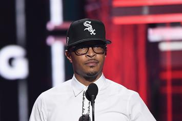 "T.I. Says His Kids ""Ain't Rocking"" With Him Right Now"