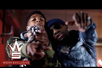 "Ralo & NBA YoungBoy Link In ""Rain Storm"" Video"