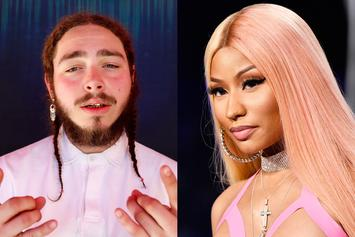 "Nicki Minaj Shares Post Malone's ""Beauty Blog Video"""