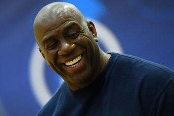Magic Johnson Waited An Hour In His Car Before Meeting With LeBron