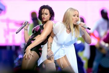"Iggy Azalea Talks Demi Lovato's Relapse: ""I Worried A Lot, As Her Friend"""