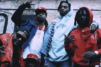"Jim Jones Drops Off New Video For ""Banging"" Featuring Mozzy"