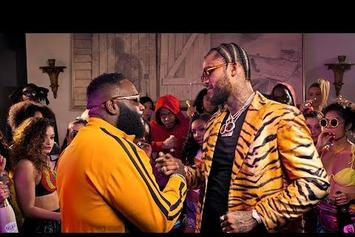 "Dave East & Rick Ross Link Up For The ""Fresh Prince Of Belaire"" Music Video"