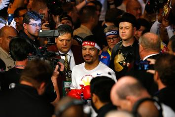 Manny Pacquiao Returns In WBA World Title Fight Against Lucas Mathysse
