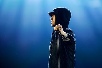 Eminem Posts First On-Stage Selfie & It's As Awkward As You Think