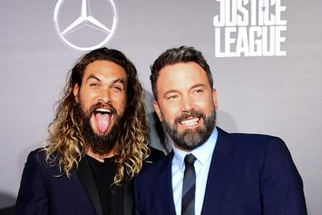 """""""Aquaman"""" Movie Poster Released Along With A Photo From The Film"""