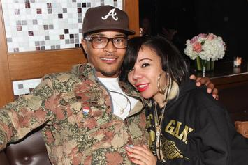T.I. Cops $225K Custom Mercedes-Benz For Tiny's Birthday