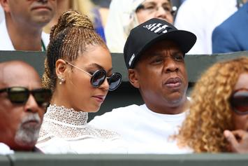 """Beyonce & Jay-Z """"On The Run II Tour"""" Footage Has Fans Convinced She's Pregnant"""