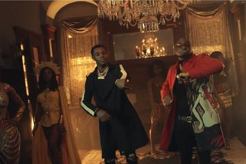 """A Boogie Wit Da Hoodie & Davido Feign Death In """"Way Too Fly"""" Video"""