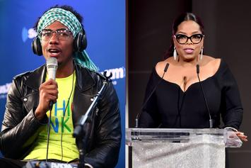 "Nick Cannon Would Smash Oprah & Her Best Friend: ""They Both Got Ass"""