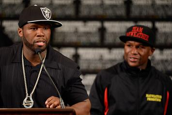 Floyd Mayweather Continues To Attack 50 Cent By Taking Shots At His Parenting