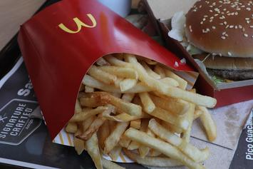 McDonald's Is Offering Free Fries All Year If You Download Their App