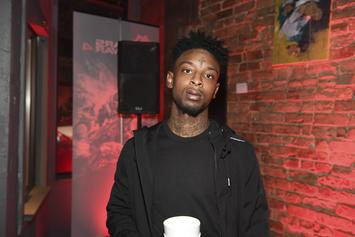 21 Savage Shares Strange Video Of Him Bandaged Up At Doctor's Office