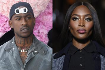 Fans Are Convinced That Naomi Campbell Is Having Skepta's Child