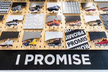 LeBron Announces Plans To Auction 114 Shoes For I Promise School