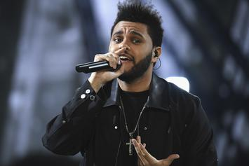 The Weeknd Is Back In The Studio For Another Round
