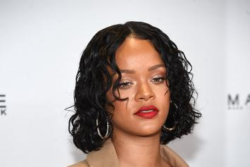 Rihanna's Pencil-Thin Eyebrows On British Vogue Generate Mixed Reactions