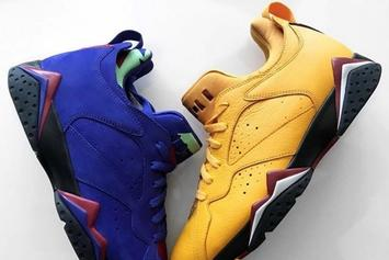 "Air Jordan 7 Low NRG Surfaces In ""Taxi"" & ""Bright Concord"""