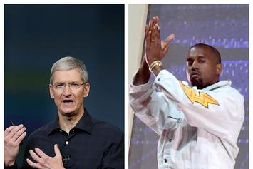 Kanye West & Tim Cook On Apple Becoming The First Trillion Dollar Company
