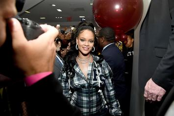 "Rihanna's Controversial ""Vogue"" Cover Is Addressed In Behind The Scenes Video"