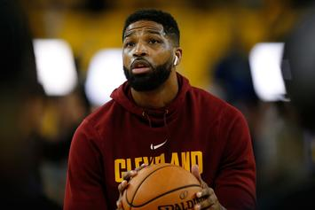 Tristan Thompson's Still Out Here Getting Trolled For Cheating On Khloe Kardashian