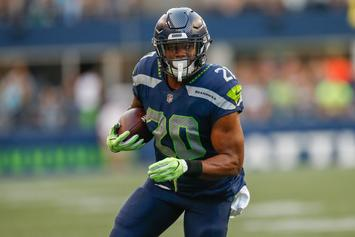 Seattle Seahawks Rookie Rashaad Penny Out 3-4 Weeks: Report