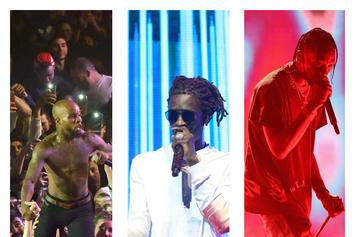 "Young Thug Shares This Week's ""FIRE EMOJI"" Playlist With Travis Scott and Tory Lanez"