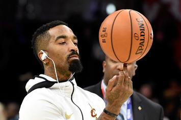 "J.R. Smith Talks Favorite Jordans, Supreme & LeBron On ""Sneaker Shopping"""