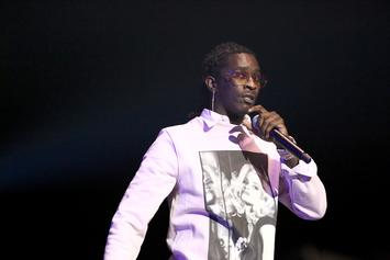 Watch Young Thug, Andre Drummond Perform At Detroit Pistons Mansion Party