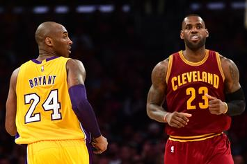 """Kobe Bryant Says His Die Hard Fans Will """"Fall In Line"""" When It Comes To LeBron James"""