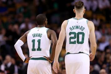 """Gordon Hayward, Kyrie Irving Will Be """"Full Speed"""" At Camp: Report"""