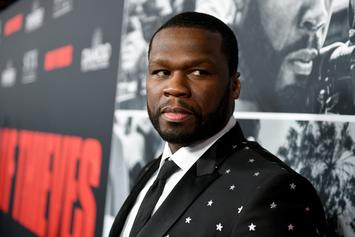 """50 Cent Reacts To Mural Painting Of Himself As Tekashi 6ix9ine: """"What The F*ck"""""""