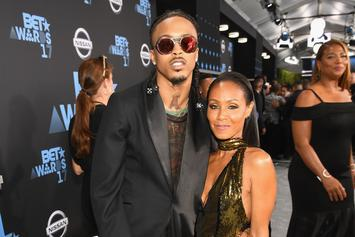 "Jada Smith Wishes August Alsina A Happy Born Day: ""I'm So Proud Of You"""