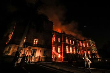 Fire Destroys Brazil's National Museum, 20 Million Artifacts Destroyed