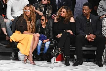 """Blue Ivy Hilariously Pranks Tina Knowles With """"Hands And Eggs"""" For Breakfast"""