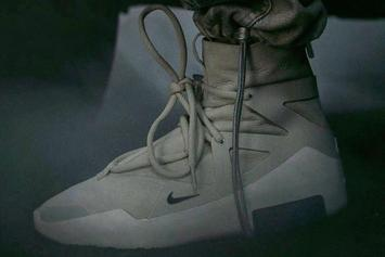 Fear of God x Nike Collab Surfaces: First Look