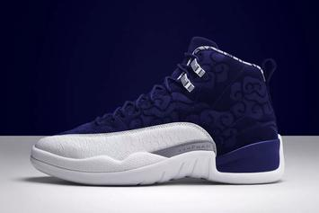 "Air Jordan 12 ""International Flight"" Hits Stores This Weekend"