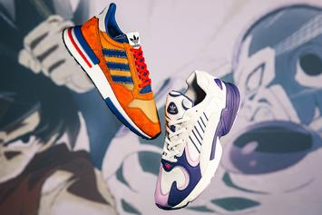 "Dragon Ball Z x Adidas ""Goku"" & ""Frieza"" Sneakers Release Date Announced"