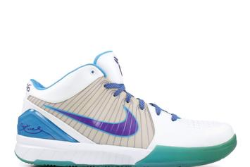 "Nike Kobe IV Returning In ""Draft Day"" Charlotte Hornets Colorway"