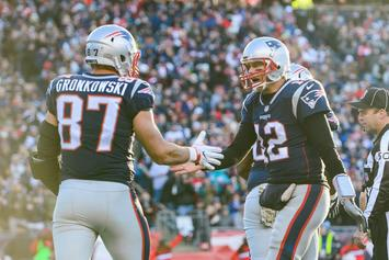 """Patriots vs Lions: Rob Gronkowski """"Not Going Anywhere Without Brady"""""""